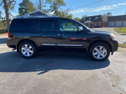 2010 Nissan Armada for sale at Rocky Mount Motors in Battleboro NC
