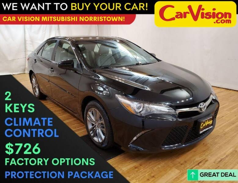 2017 Toyota Camry for sale at Car Vision Mitsubishi Norristown in Trooper PA