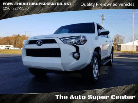 2015 Toyota 4Runner for sale at The Auto Super Center in Centre AL