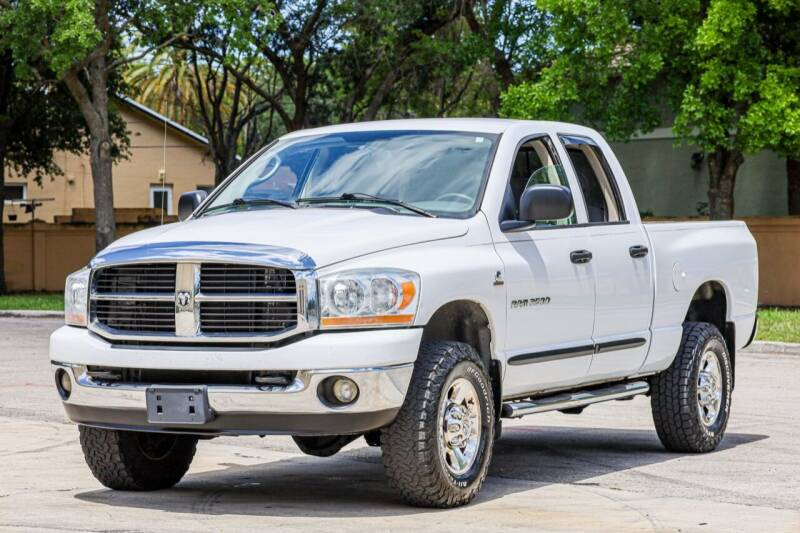 2006 Dodge Ram Pickup 2500 for sale at Easy Deal Auto Brokers in Hollywood FL