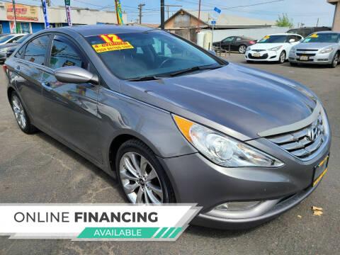 2012 Hyundai Sonata for sale at Super Cars Sales Inc #1 - Super Auto Sales Inc #2 in Modesto CA