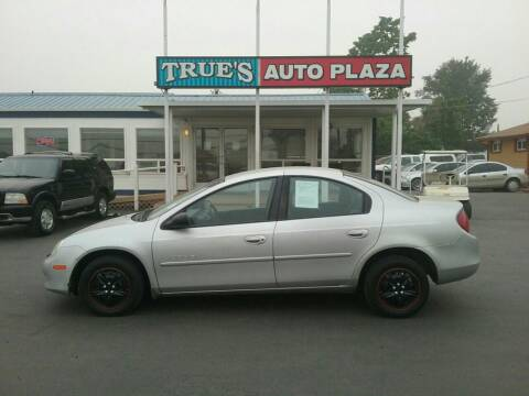 2001 Dodge Neon for sale at True's Auto Plaza in Union Gap WA