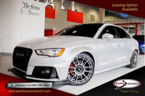 2015 Audi A3 for sale at Quality Auto Center of Springfield in Springfield NJ