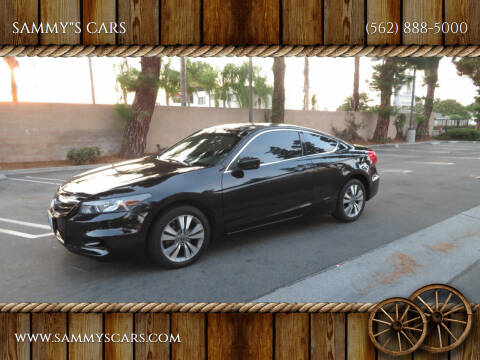 "2012 Honda Accord for sale at SAMMY""S CARS in Bellflower CA"