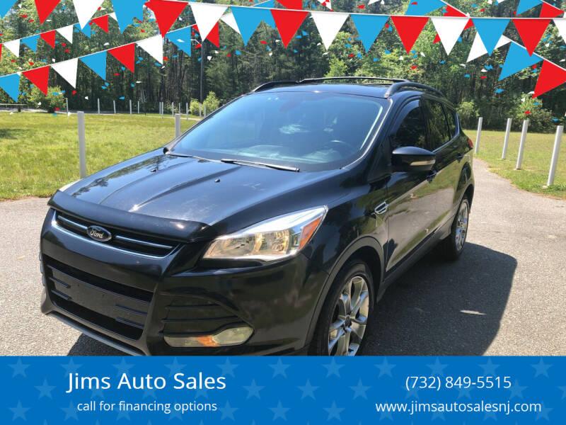 2013 Ford Escape for sale at Jims Auto Sales in Lakehurst NJ