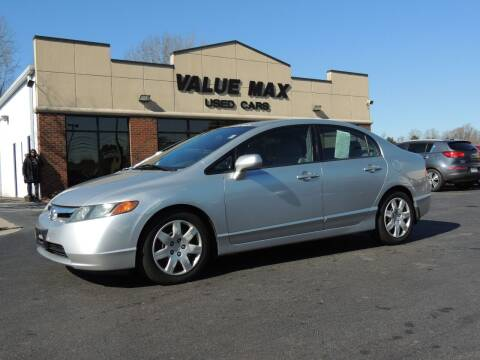 2008 Honda Civic for sale at ValueMax Used Cars in Greenville NC