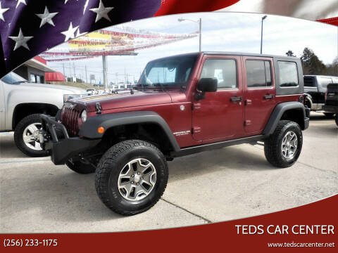 2008 Jeep Wrangler Unlimited for sale at TEDS CAR CENTER in Athens AL