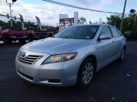 2007 Toyota Camry Hybrid for sale at P J McCafferty Inc in Langhorne PA