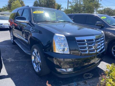 2013 Cadillac Escalade ESV for sale at Mike Auto Sales in West Palm Beach FL