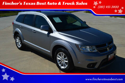 2017 Dodge Journey for sale at Fincher's Texas Best Auto & Truck Sales in Tomball TX