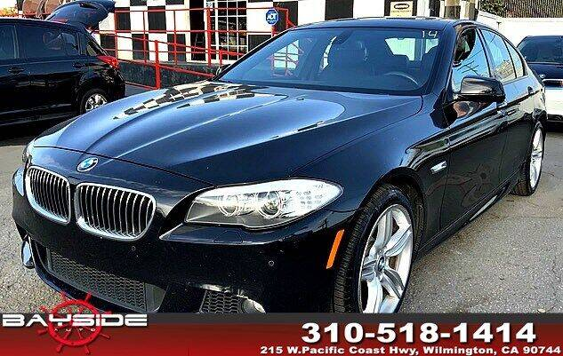 2011 BMW 5 Series for sale at BaySide Auto in Wilmington CA