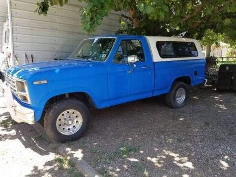 1982 Ford F-150 for sale at Classic Car Deals in Cadillac MI