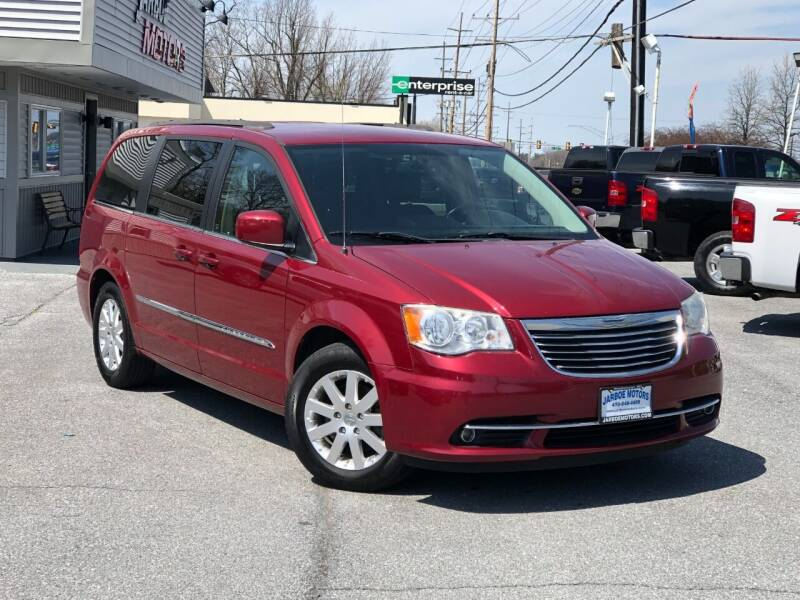 2014 Chrysler Town and Country for sale at Jarboe Motors in Westminster MD