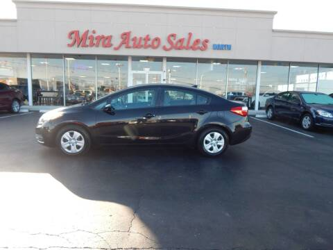 2015 Kia Forte for sale at Mira Auto Sales in Dayton OH