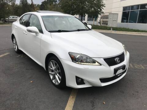 2011 Lexus IS 350 for sale at Dotcom Auto in Chantilly VA