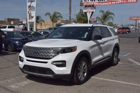 2020 Ford Explorer for sale at Choice Motors in Merced CA