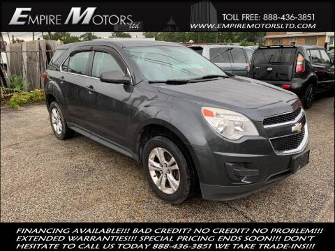 2010 Chevrolet Equinox for sale at Empire Motors LTD in Cleveland OH