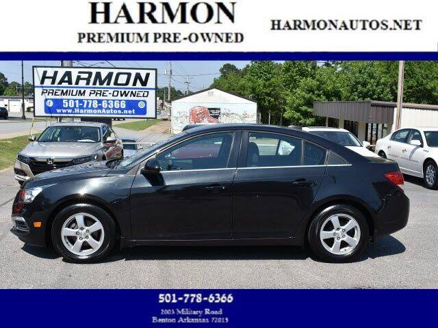 2016 Chevrolet Cruze Limited for sale at Harmon Premium Pre-Owned in Benton AR