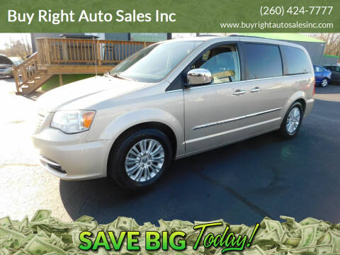 2013 Chrysler Town and Country for sale at Buy Right Auto Sales Inc in Fort Wayne IN