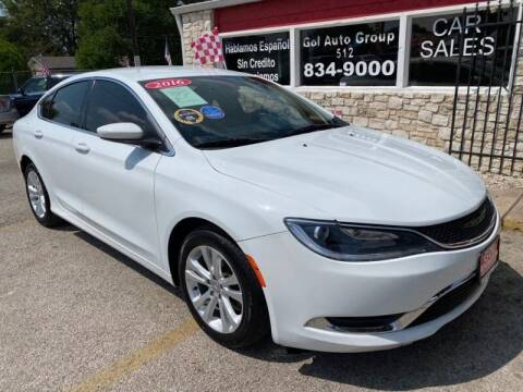 2016 Chrysler 200 for sale at GOL Auto Group in Austin TX
