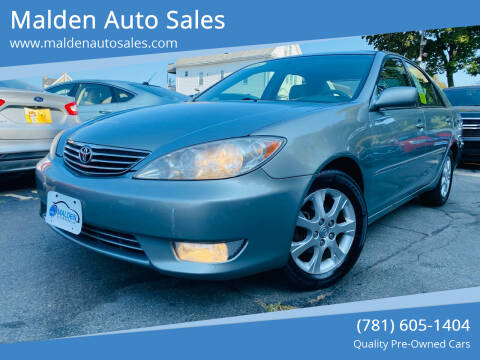 2005 Toyota Camry for sale at Malden Auto Sales in Malden MA