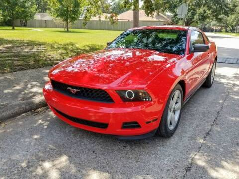 2012 Ford Mustang for sale at Amazon Autos in Houston TX