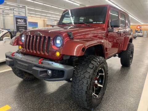 2011 Jeep Wrangler Unlimited for sale at Dixie Imports in Fairfield OH