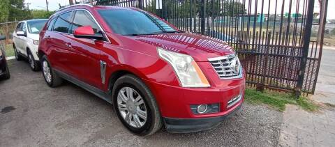 2014 Cadillac SRX for sale at AUTOTEX FINANCIAL in San Antonio TX