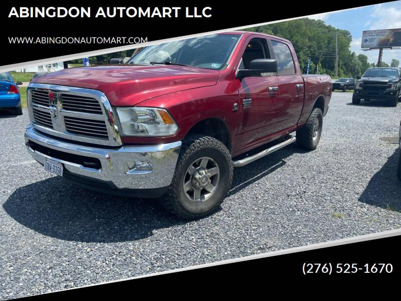 2012 RAM Ram Pickup 2500 for sale at ABINGDON AUTOMART LLC in Abingdon VA