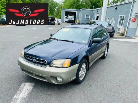 2004 Subaru Outback for sale at J & J MOTORS in New Milford CT