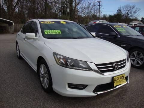 2013 Honda Accord for sale at Easy Ride Auto Sales Inc in Chester VA