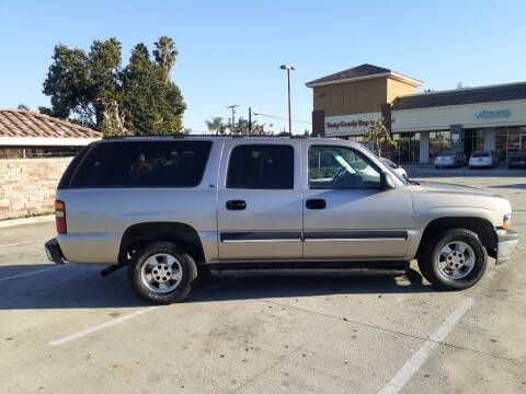 2002 Chevrolet Suburban for sale at RN AUTO GROUP in San Bernardino CA