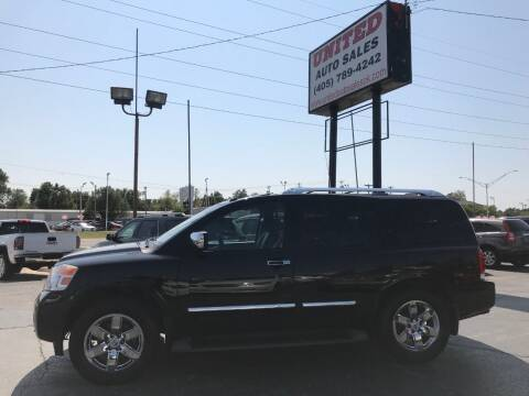 2013 Nissan Armada for sale at United Auto Sales in Oklahoma City OK