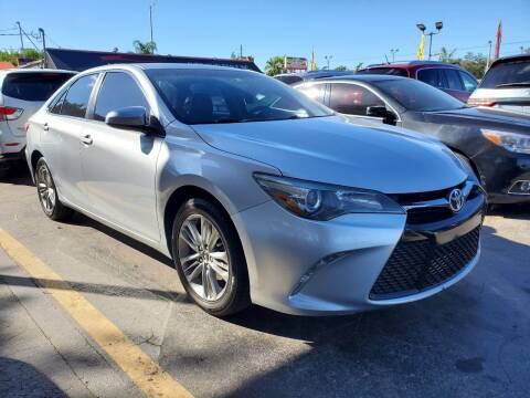 2015 Toyota Camry for sale at America Auto Wholesale Inc in Miami FL