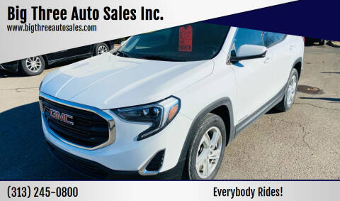 2018 GMC Terrain for sale at Big Three Auto Sales Inc. in Detroit MI