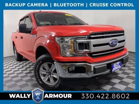 2018 Ford F-150 for sale at Wally Armour Chrysler Dodge Jeep Ram in Alliance OH