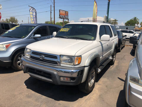 2000 Toyota 4Runner for sale at Valley Auto Center in Phoenix AZ