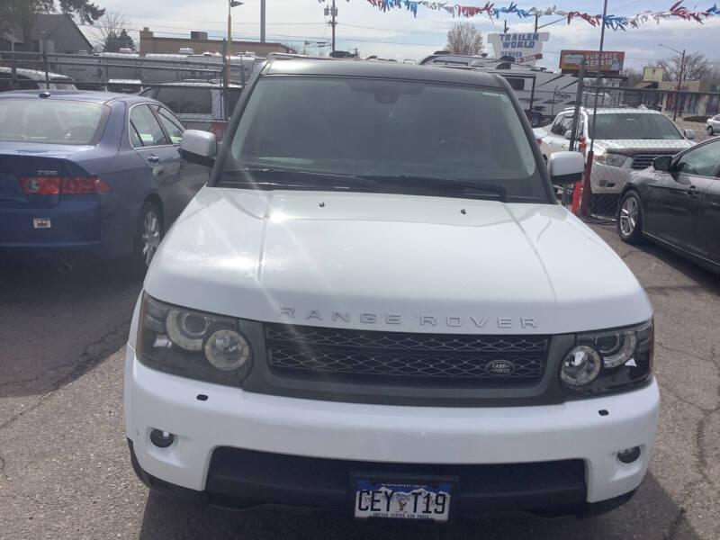 2011 Land Rover Range Rover Sport for sale at GPS Motors in Denver CO