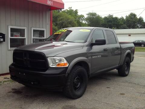 2012 RAM Ram Pickup 1500 for sale at Midwest Auto & Truck 2 LLC in Mansfield OH