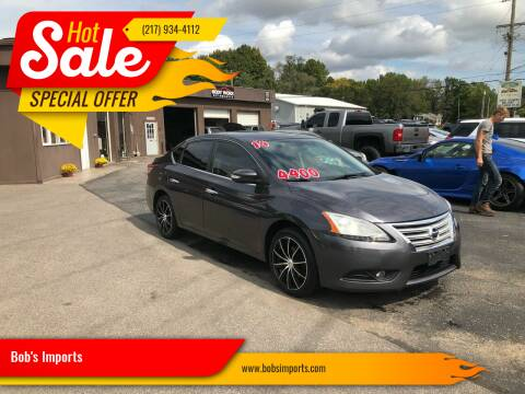 2013 Nissan Sentra for sale at Bob's Imports in Clinton IL