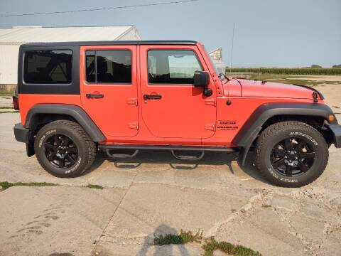 2015 Jeep Wrangler Unlimited for sale at Kardells Auto in Laurel NE