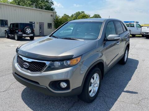2013 Kia Sorento for sale at Brewster Used Cars in Anderson SC