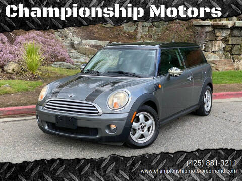 2010 MINI Cooper Clubman for sale at Championship Motors in Redmond WA