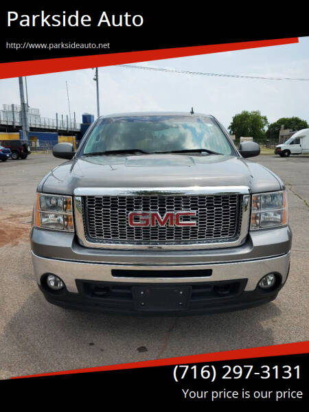 2013 GMC Sierra 1500 for sale at Parkside Auto in Niagara Falls NY