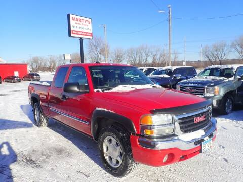 2004 GMC Sierra 1500 for sale at Marty's Auto Sales in Savage MN