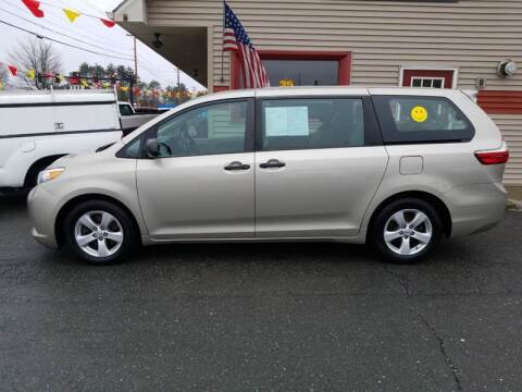 2015 Toyota Sienna for sale at Shattuck Motors in Newport VT