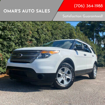 2013 Ford Explorer for sale at Omar's Auto Sales in Martinez GA