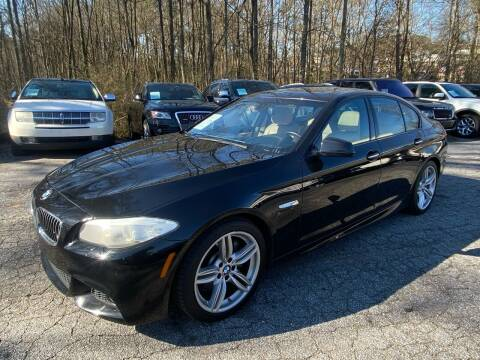 2013 BMW 5 Series for sale at Car Online in Roswell GA