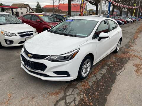 2017 Chevrolet Cruze for sale at Midtown Autoworld LLC in Herkimer NY