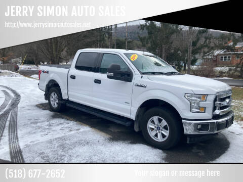 2017 Ford F-150 for sale at JERRY SIMON AUTO SALES in Cambridge NY